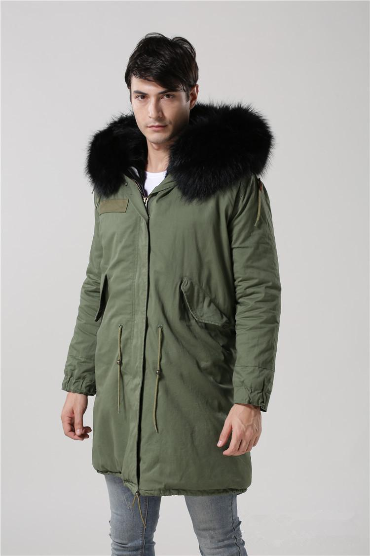 249051a96 MR.   MS. 2015 New Europe Winter Men S Cotton Padded Jacket  Army ...