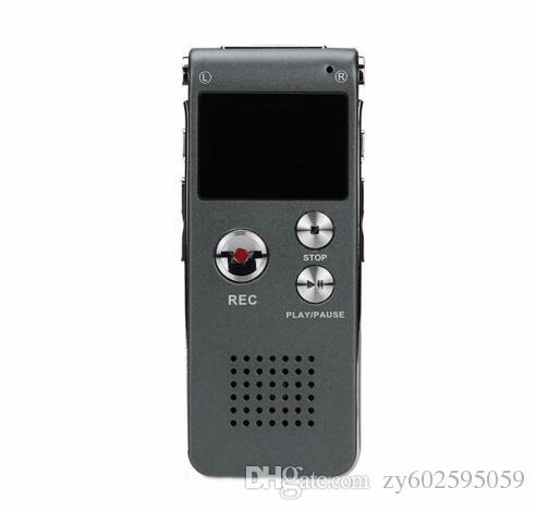 Enregistreur vocal numérique audio 8 Go Dictaphone Lecteur MP3 professionnel SK-012 avec boîte au détail 810 livraison gratuite