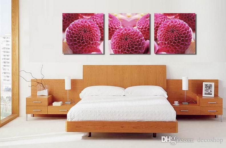 현대 아름다운 꽃 좋은 꽃 그림 캔버스에 Giclee 인쇄 홈 장식 벽 예술 Set30404