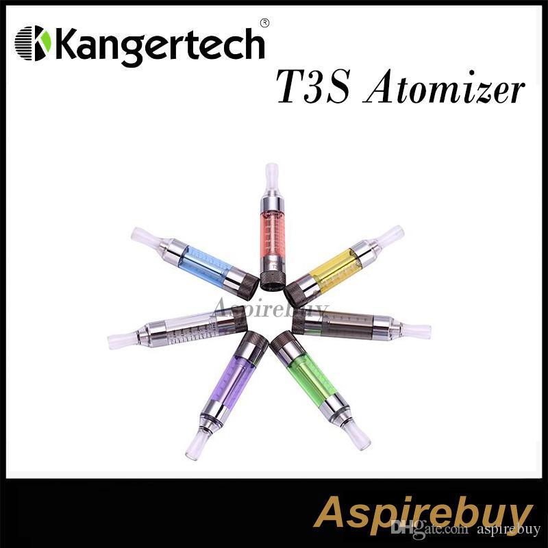 100% Oryginalny Kanger T3S Atomizer T3 Aktualizacja zbiornika Clearomizer T3S Karomizer Kangertch Z Zmiennym Cewka Kanger T3S Zestaw Atomizer