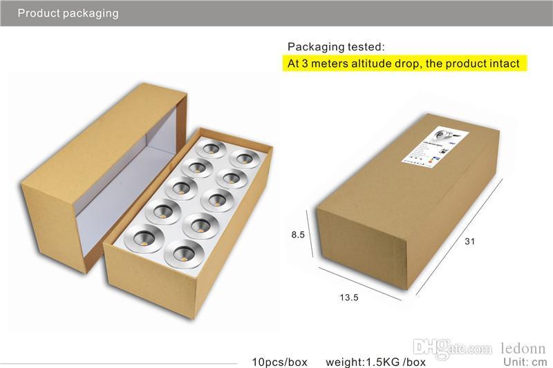Freier Verschiffen-Edelstahl 5630 Aluminium IP67 DC12V-24V 3W COB wasserdichte Mini-LED-Untertagelichtlampe begrub Lampe im Freienbeleuchtung