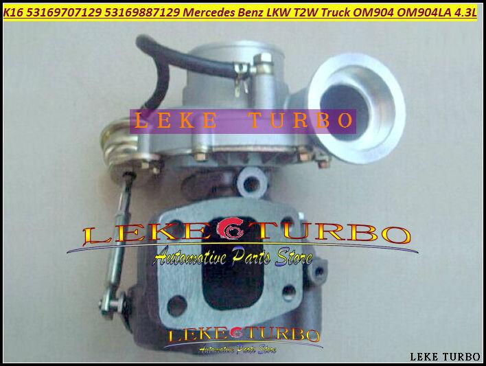 Turbo Turbocharger K16 7129 53169707129 53169887129 9040968599 For Mercedes Benz LKW T2W Truck OM904 OM904LA 4.3L (2)