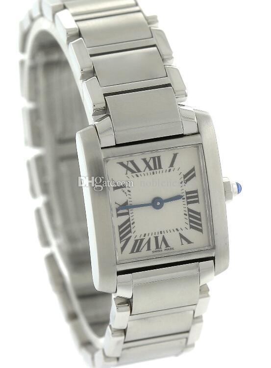 Luxury Top Quality Ladys donna new Ladies acciaio inossidabile 2384 orologio al quarzo da donna orologi da polso da donna