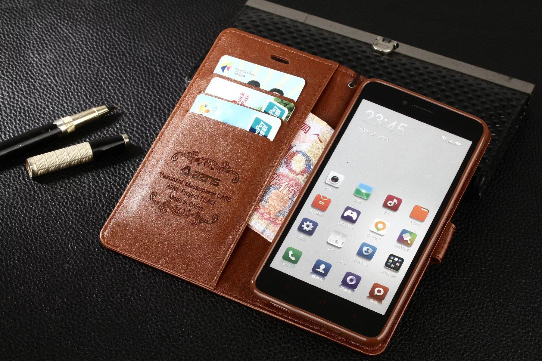 Fresco per Xiaomi Redmi Note 2 Caso di lusso di vibrazione del raccoglitore Custodia in pelle originale sottile copertina rigida per Xiaomi Hongmi Redmi Note 2