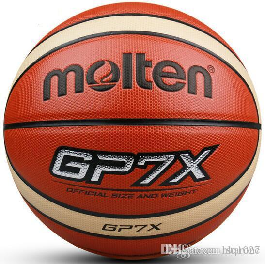 NEW Brand Official Standard Size7 Official Molten Basketball GP7X Molten PU Material Indoor Outdoor Basketball free shipping