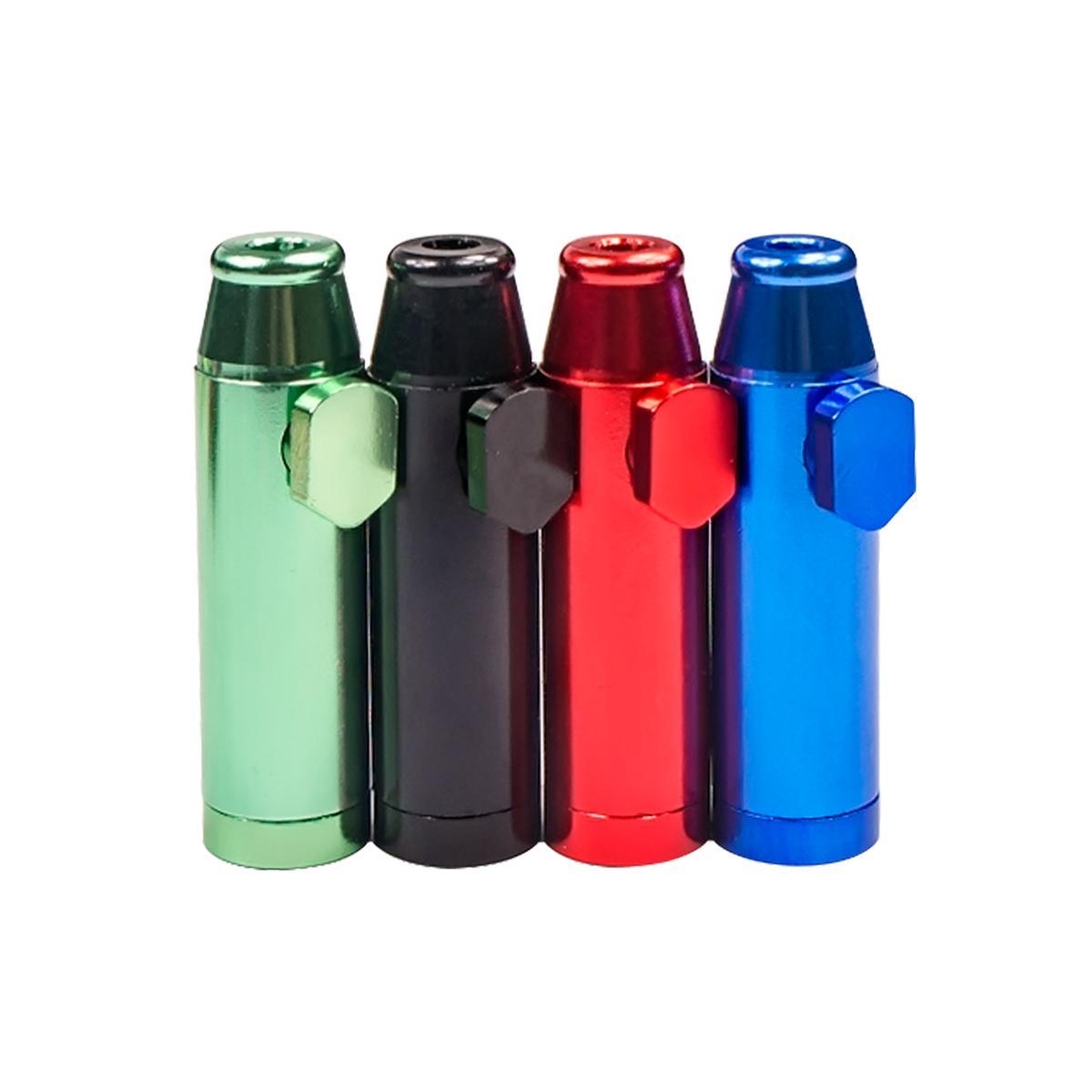 FormAX420 5 PCS 54 mm x 15 mm de aluminio Snifer Bullet Box Rocket Sniffer Sniffer Colores mixtos Enviar envío gratis al azar