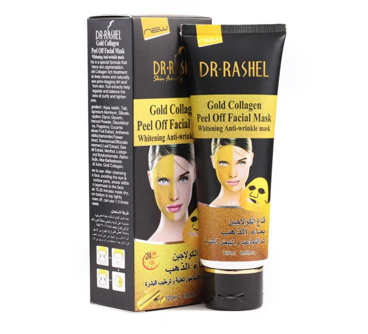 Brand New Dr.Rashel Gold Collagen Peel Off Facial Mask Health to your Skin 120ml piece bea465