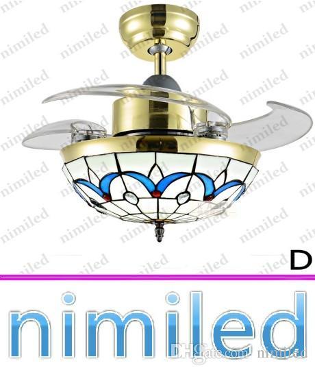 "nimi921 36 ""/ 42"" مروحة السقف الخفي ضوء إضاءة غرفة المعيشة المتوسط العتيقة الثريا مطعم مصابيح أضواء غرفة نوم الإضاءة"