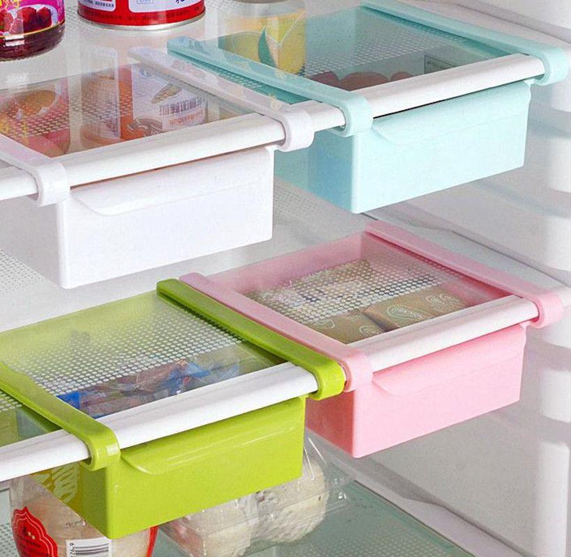 2019 Plastic Drawer Storage Fridge Storage Box Spacer Layer Storage Kitchen  Supplies Kitchen Drawer Organizer Fridge Space Saver From Chenyuanfei, ...