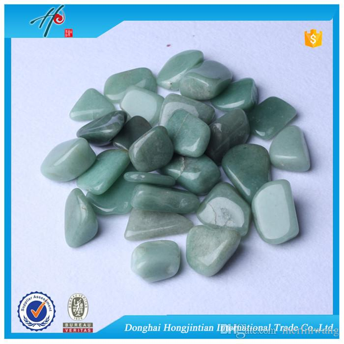Green Aventurine Wholesale Tumbled stone 9-60mm Natural Crystal Beads Healing reiki & good lucky energy stones FREE SHIPPING