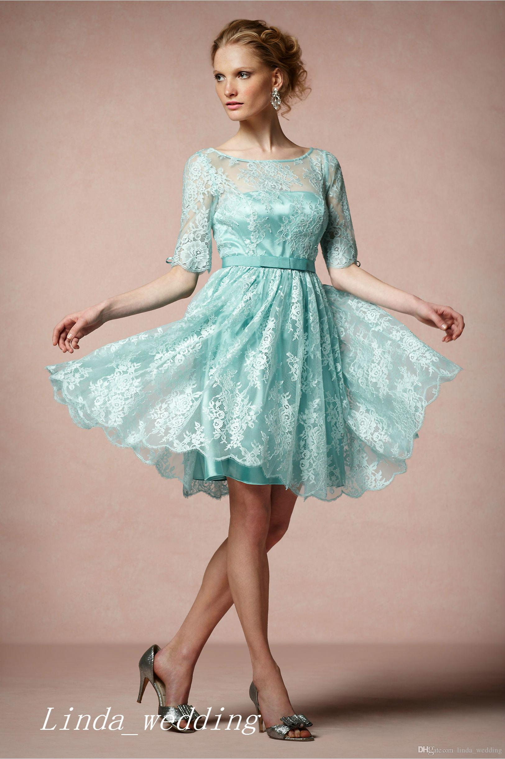 Attractive Short Vintage Bridesmaid Dresses Composition - All ...