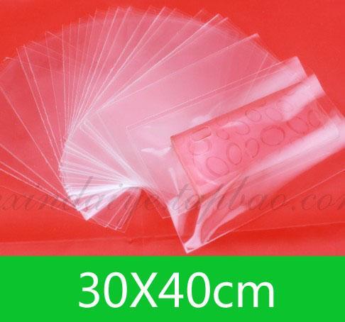 New OPP Open top Bag (30x40cm) per la vendita al dettaglio o fai da te WholesaleJewelry borse chiare 100pcs / lot libera