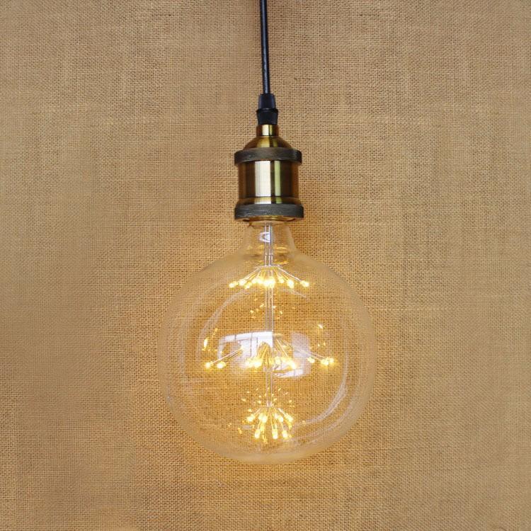 Vintage G80 LED Edison Filament Light Bulb E27 220V Ampolletas Led Light for Home Clear Glass incandescent Warm Yellow Bulb Lamp (15)