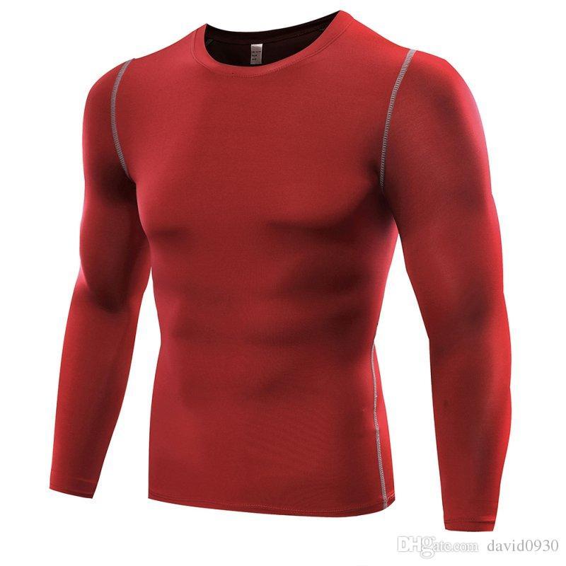 Roupas Masculinas Serviço Elastic Compression Speed Dry Clothes Roupas apertadas