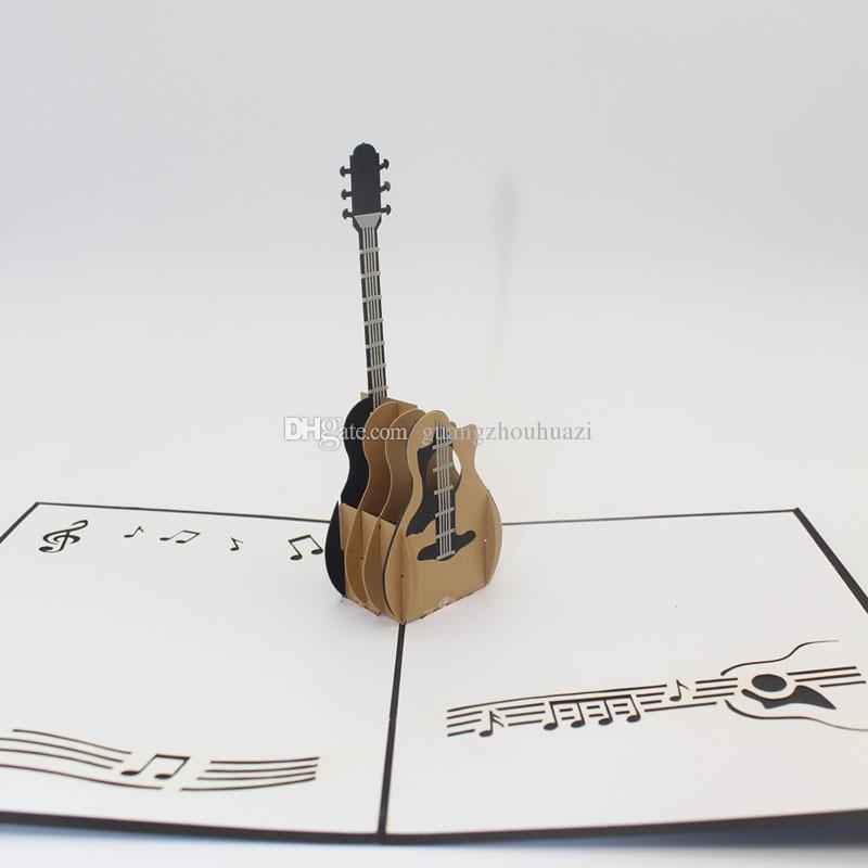 Diy 3d pop up laser cut vintage guitar greeting cards postcards diy 3d pop up laser cut vintage guitar greeting cards postcards christmas valentine birthday invitation handmade m4hsunfo
