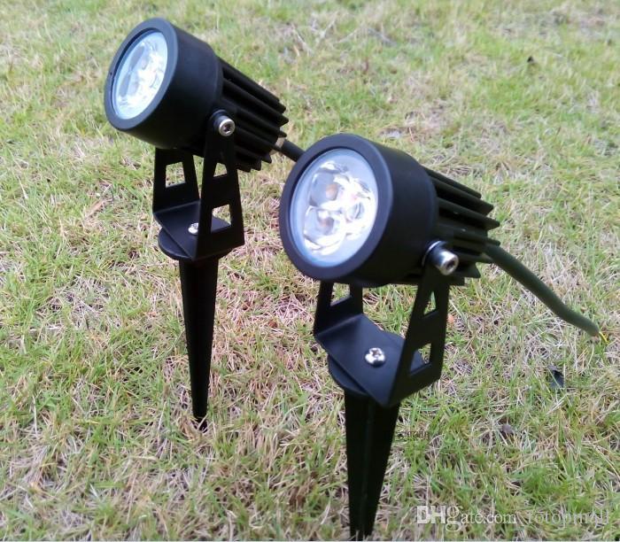 Outdoor lights 3w led garden spotlights 12v 85 265v with 3 chips outdoor lights 3w led garden spotlights 12v 85 265v with 3 chips lawn bulb lighting aloadofball Gallery