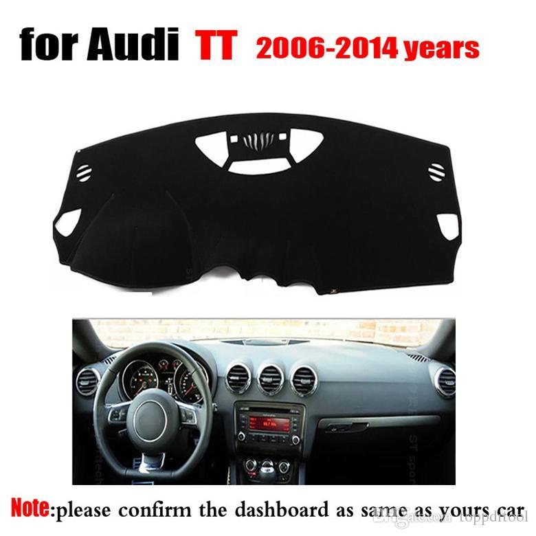 Автомобильная Панель защита Pad для Audi TT 2006 К 2014 году автомобили Dashmat Pad Instrument Platform
