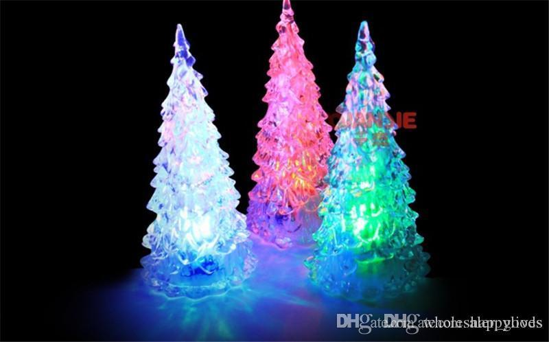 Pretty New LED Lampe Licht Kristall Dekoration Einzigartige Schöne Home Party Geschenk Dekor Weihnachten Weihnachtsbaum