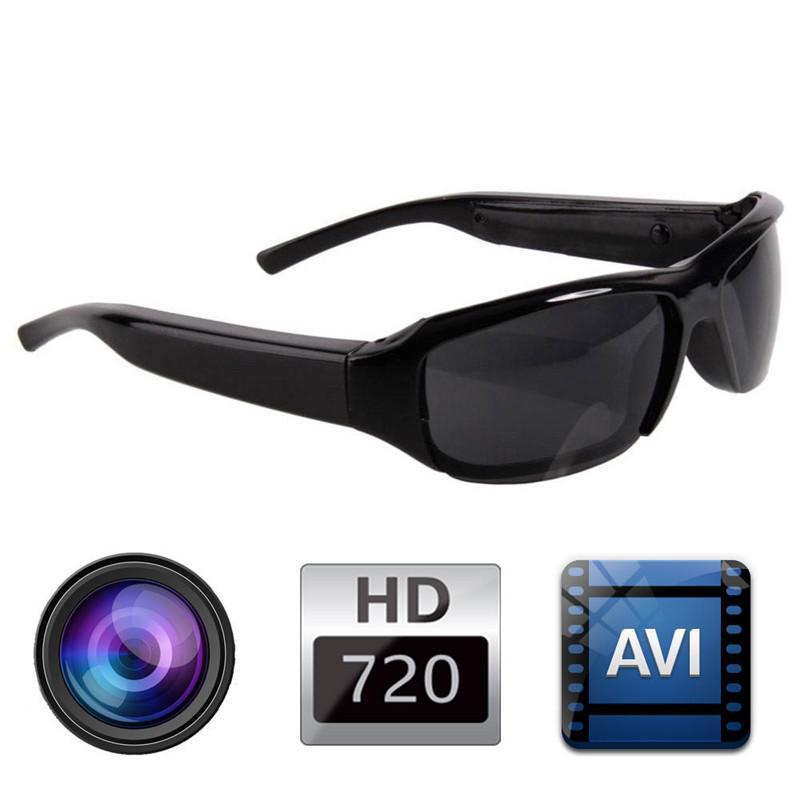 Mini HD Spy Camera Glasses Sunglasses 1080P Recorder Eyewear Camcorder TF DV DVR