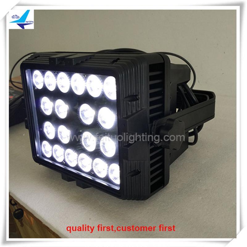 (8 / lot) uplights led extérieur 20 * 15w rgbwa 5in1 rondelle de mur pour mariage extérieur led lumières mur
