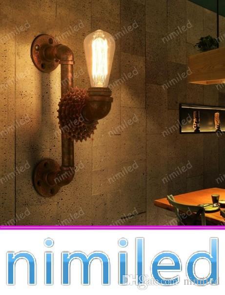 Nimi1100 Amerikanischen Retro Vintage Getriebe Industrierohre Eisen Wandleuchte Kreative Cafe Korridor Dekorative Wandleuchte Lichter Bar Beleuchtung