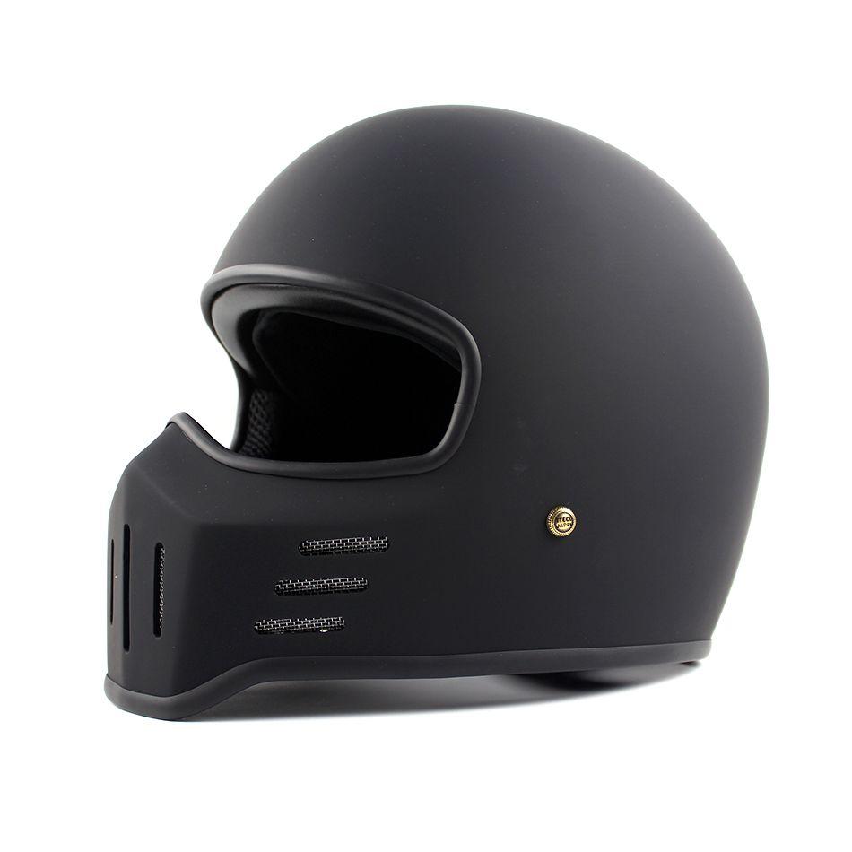 Casco moto Giappone TTCO Tokyo stile retrò harley full face casco TT-01 stile vintage chopper caschi moto casco