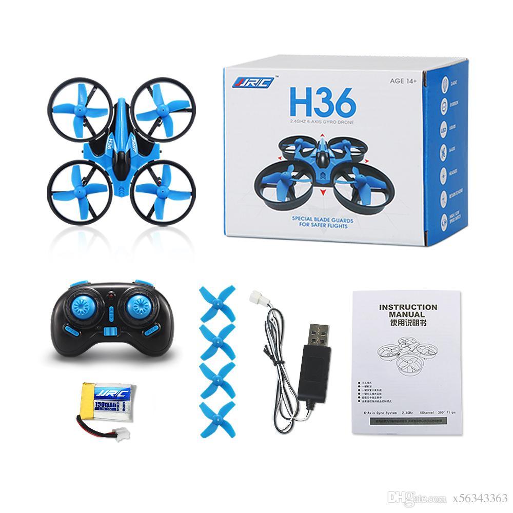 H36 مصغرة استطلاع 2.4 جيجا هرتز 4ch rc طائرة واحدة مفتاح العودة rc مروحية بلا الوضع البسيطة quadcopter التحكم عن الاطفال لعبة هدية