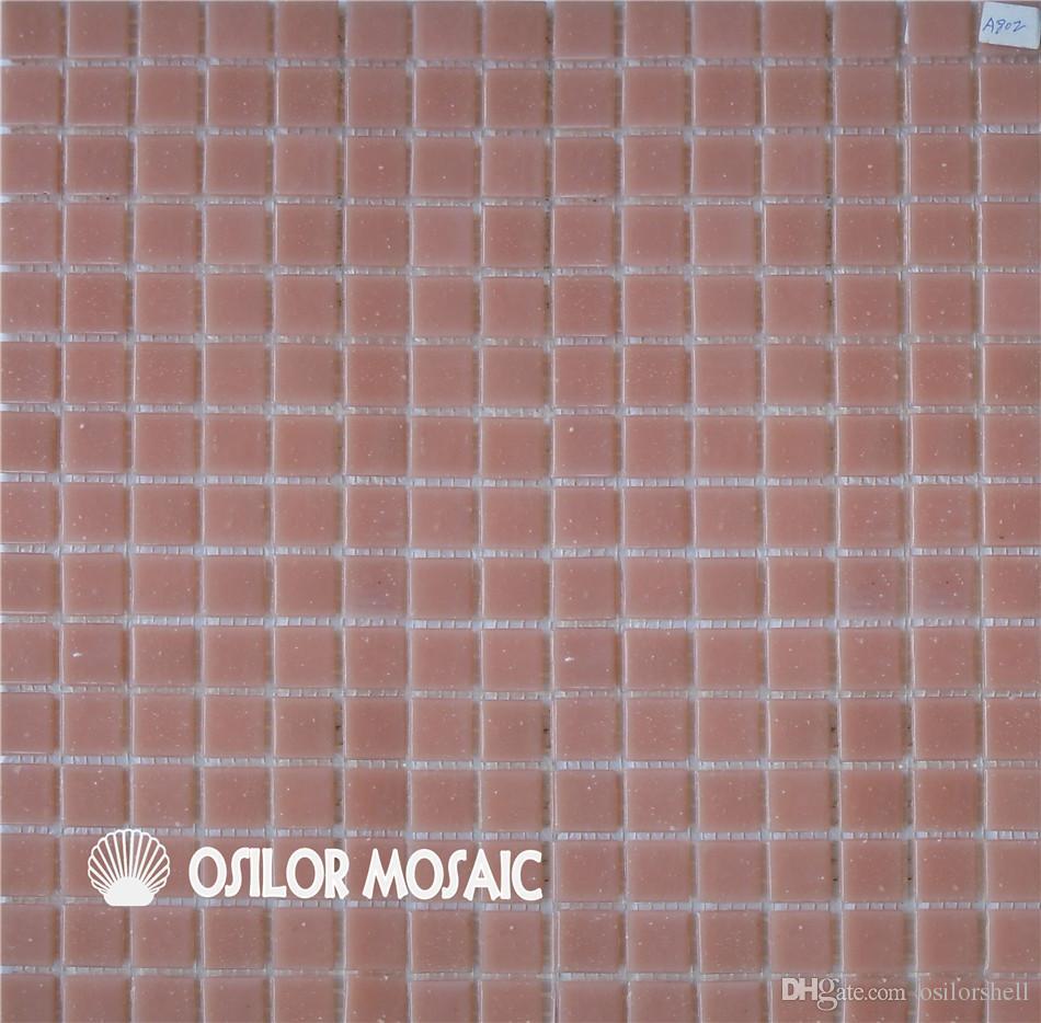 Salle De Bain Mosaique Rose ~ acheter carreau de mosa que de verre rose pour salle de bains et