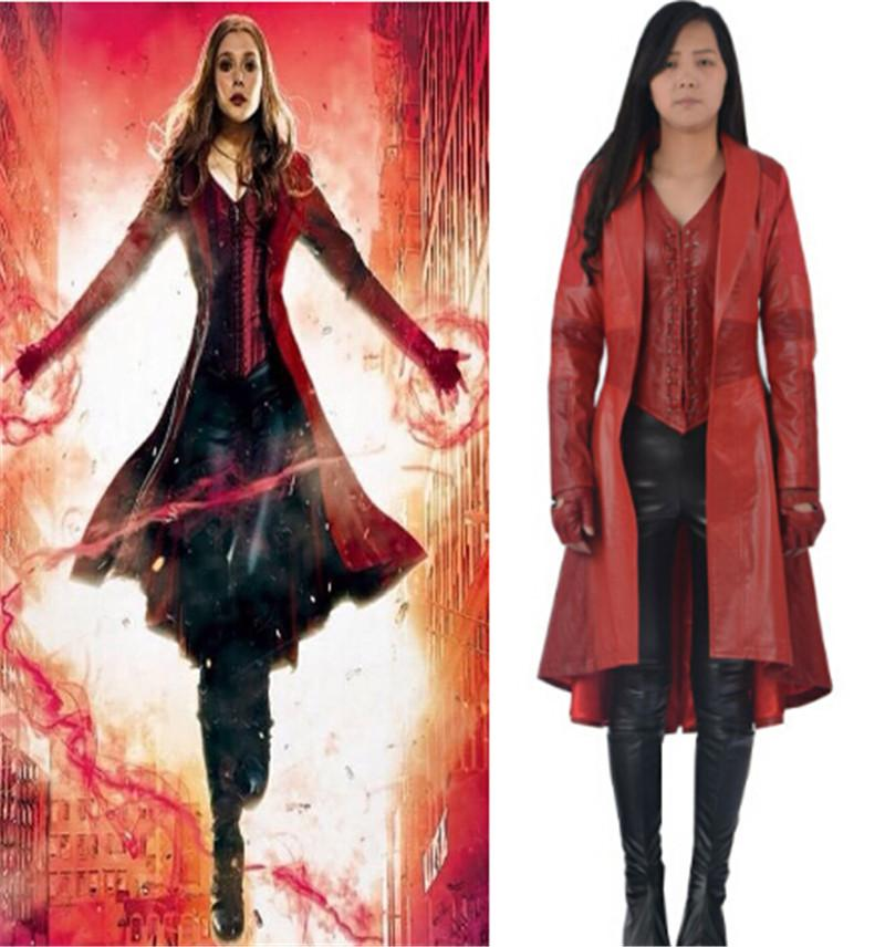 2016 Scarlet Witch cosplay Captain America Civil Scarlet Witch ...