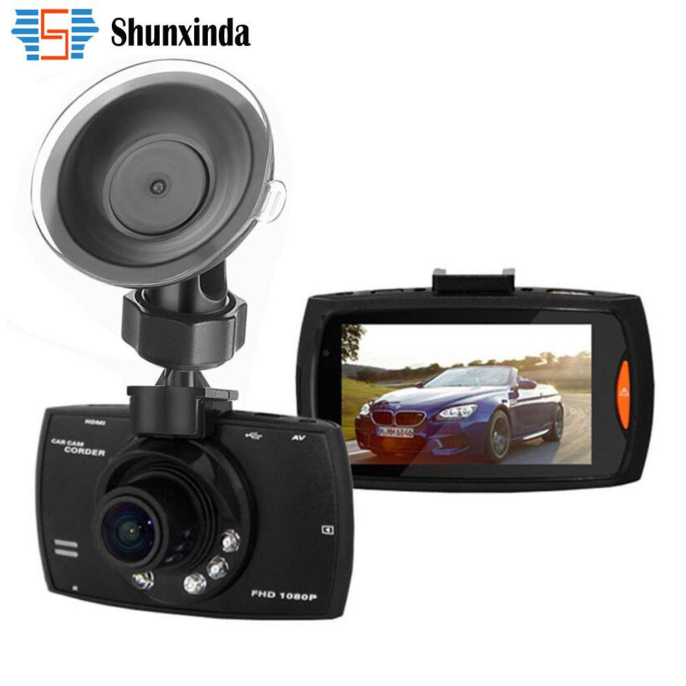"""Nouveau 2016 Voiture DVR Caméra G30 2.7 """"Full HD 1080 P 140 Degrés Enregistreur Enregistreur Motion Détection de Vision Nocturne G-Capteur Dash Cam"""