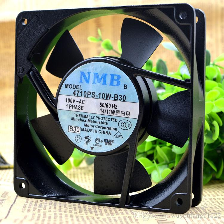 Orijinal NMB 4710PS-10T-B30 12025 100 V 14 / 11W120 * 120 * 25 MM soğutma fanı