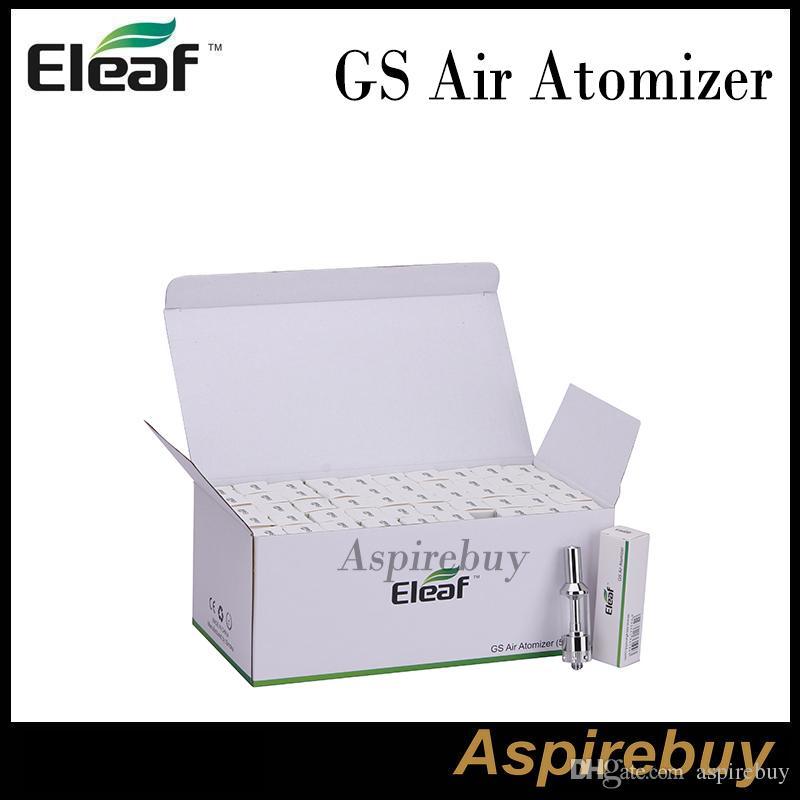 ISMOKA ELEAF GS AIR Atomizer 2.5ml AirFlow Justerbar 510 tråd Dual Coil GS Lufttank för ELEAF ISTICK 20W BATTERI BOX MOD 100% ORIGINAL