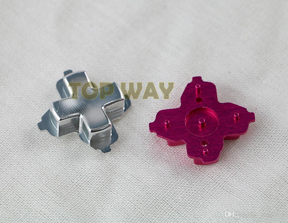 Matériaux en métal 8 couleurs chrome D-pad Croix pièces de direction de bouton pour contrôleur Xbox one xboxone