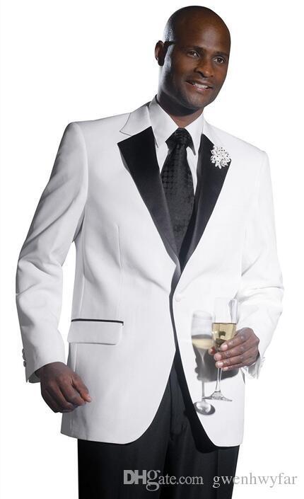 العرف زر واحد العريس البدلات الرسمية الشق التلبيب رفقاء العريس أفضل رجل رجل حفلات الزفاف حفلة موسيقية عشاء الدعاوى التجارية (سترة + بنطلون)