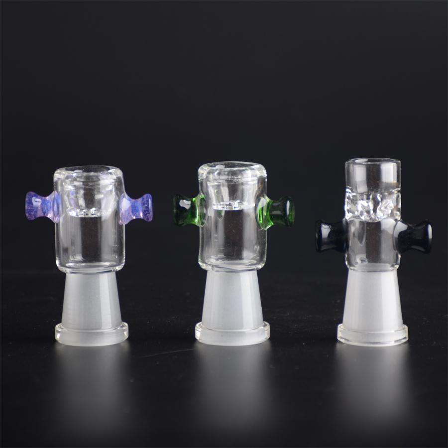 벌집 화면과 양면 색상의 유리 그릇 14.5mm 남성용 그릇 또는 14.5mm famille dry herb bowl T10