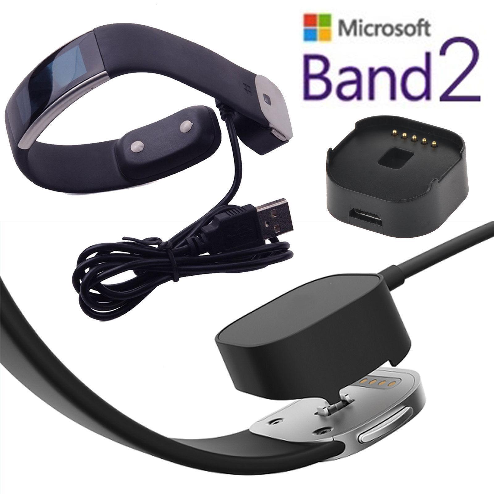 Cable de carga del cargador del cable USB para la pulsera elegante de la pulsera de la venda 2 de Microsoft
