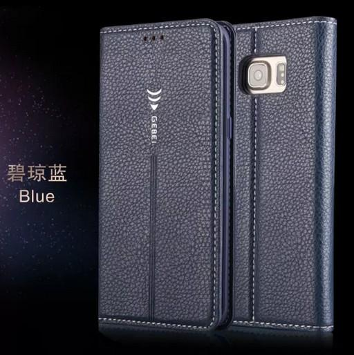 Qualità Gebei Marca Per Samsung S7 Custodia Cover Flip Custodia Lusso Originale Colorato Sveglio Custodia In Pelle Sottile Per Samsung Galaxy S7 G930 G9300
