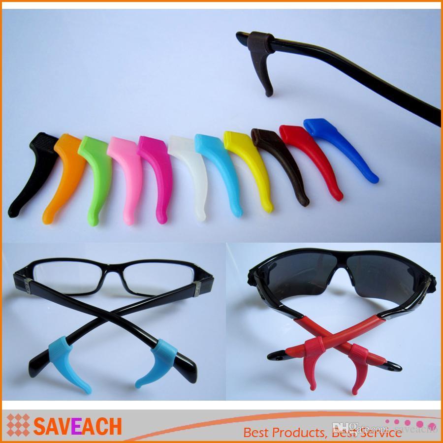 1 Paar Weiche Silikon Anti-slip Griffhalter Ohr Haken Spitze Halter Für Sport Brillen Brille Sonnenbrille Brillengläser Zubehör