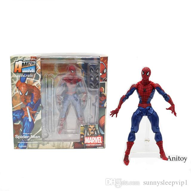 16cm Spider-Man Superheld Action Figur Avengers Spiderman Figurine Spielzeug Toy