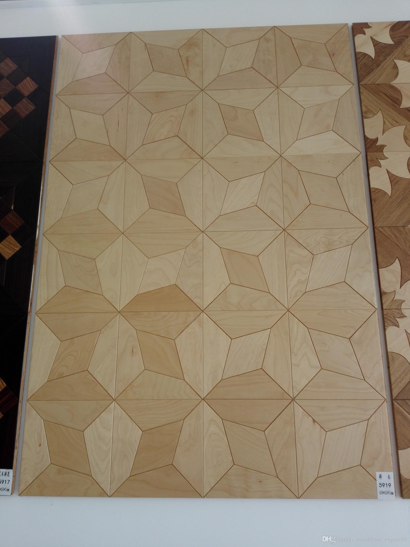 bois bouleau art sticker mural papier peint décor de plancher de bois franc home_decoration maison tenir art fournitures salon bois