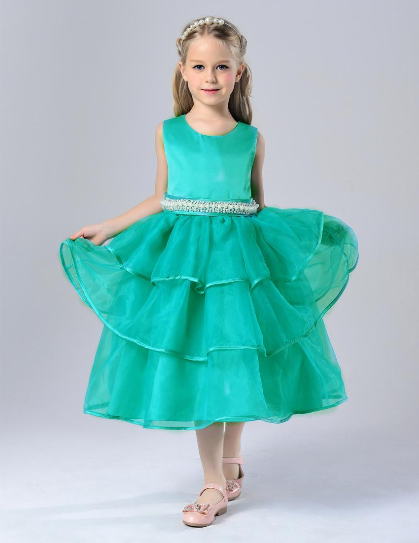 2018 3 14years Old Children Dress Skirt Autumn And Winter Girls ...