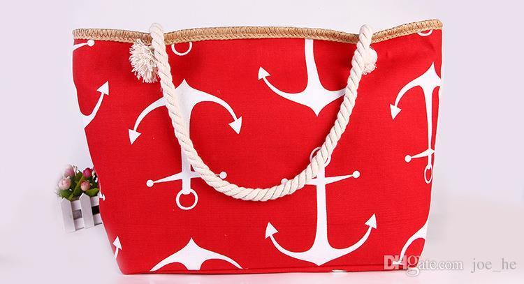 Bags Women Stripes Boat Anchor Designer Handbags Shoulder Messenger Bag Summer Handbag Bags Totes DHL Free Shipping