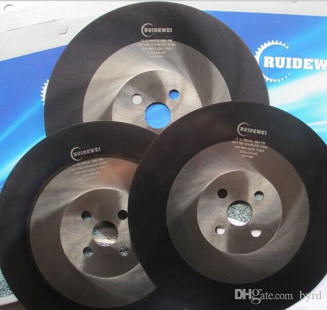 10 pollici superduro rivestimento HSS sega circolare taglio lama dischi rotondi rotella 275 * 1.2 | 1.4 | utensili da taglio taglierina inossidabile 1,6 millimetri HSS-M42