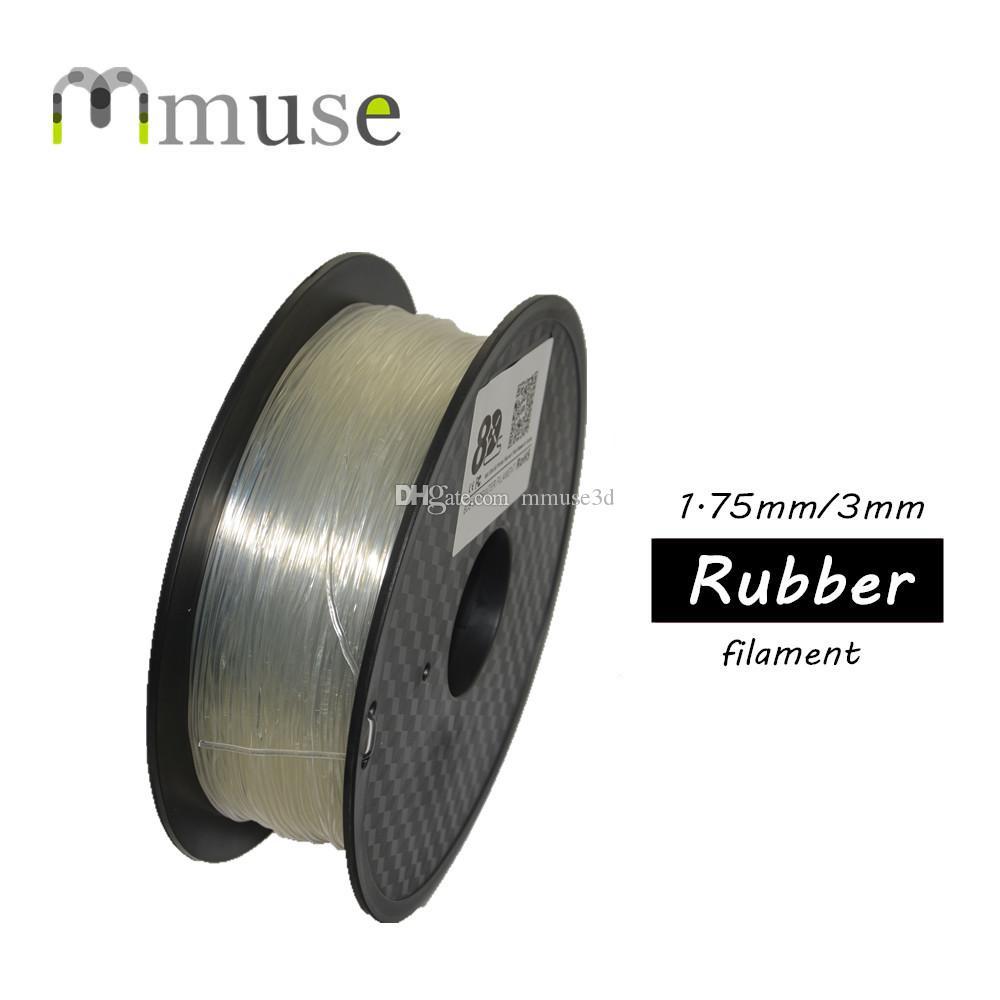 1.75mm 3mm 3D imprimante Matériau de caoutchouc TPU Filament