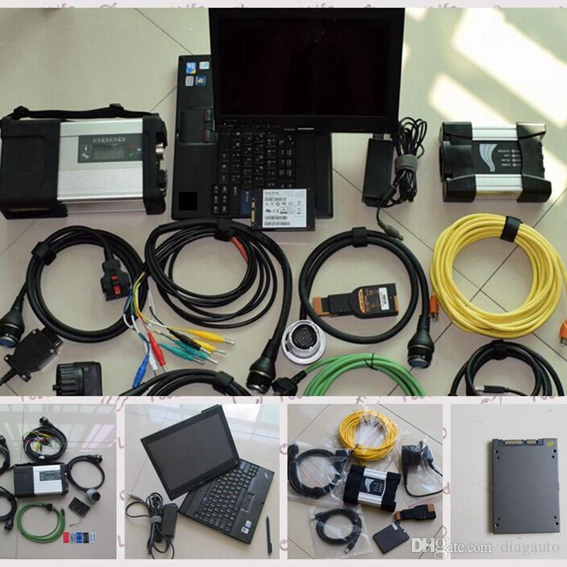 2017 dual use diagnostic-tool for mb star c5 for bmw icom next with touch screen laptop x201t (i7 4g) with 1tb 2in1 ssd