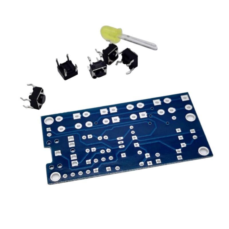 DIY-5-Keys-Stereo-Wireless-FM-Radio-Receiver-Kit-Electronic-Kit-PCB-76-108-MHz-(2)