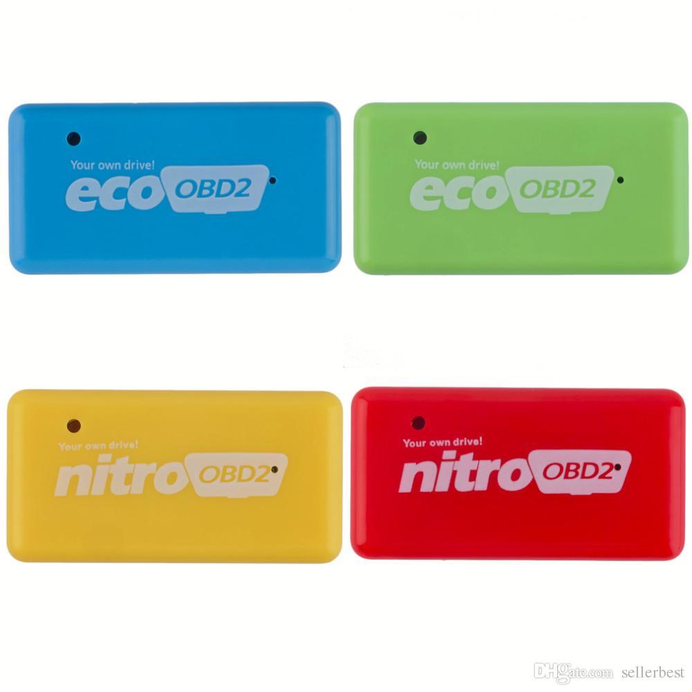 NitroOBD2 CTE038-01 Benzin Benzin Arabalar Chip Tuning Kutusu Daha Güç Tork Nitro OBD Fiş ve Sürücü Nitro OBD2 Aracı Yüksek Kalite