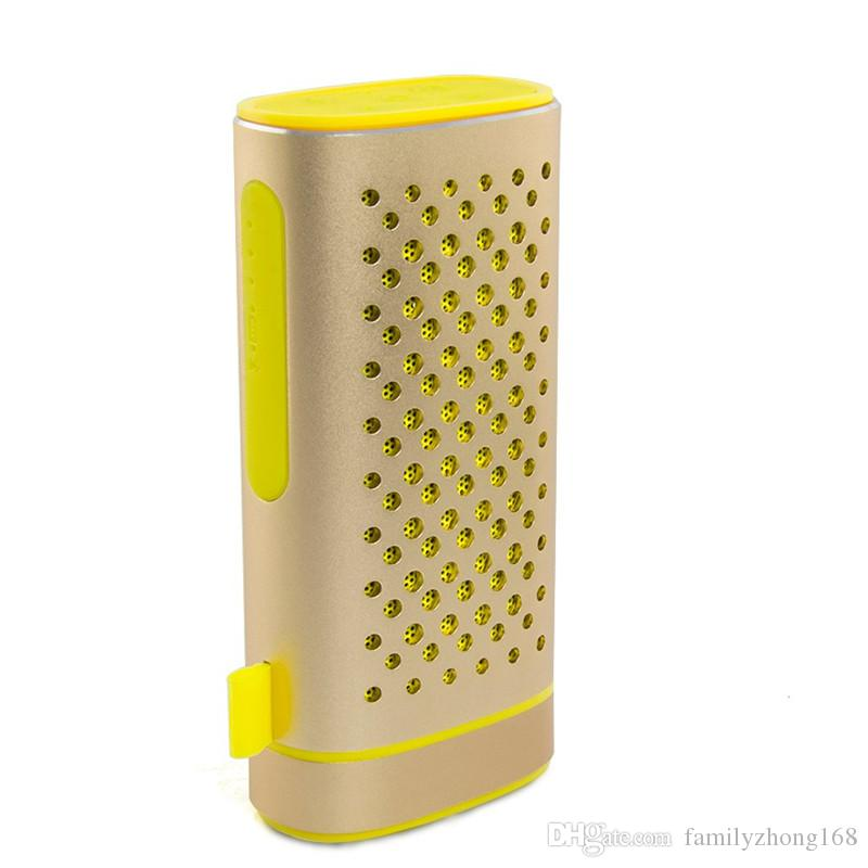 2016 New Outdoor Sport Speaker Z6 Portable Wireless Bluetooth Speaker 4400mAh Power Bank Battery with Mic Support TF card U-disk 40-YX