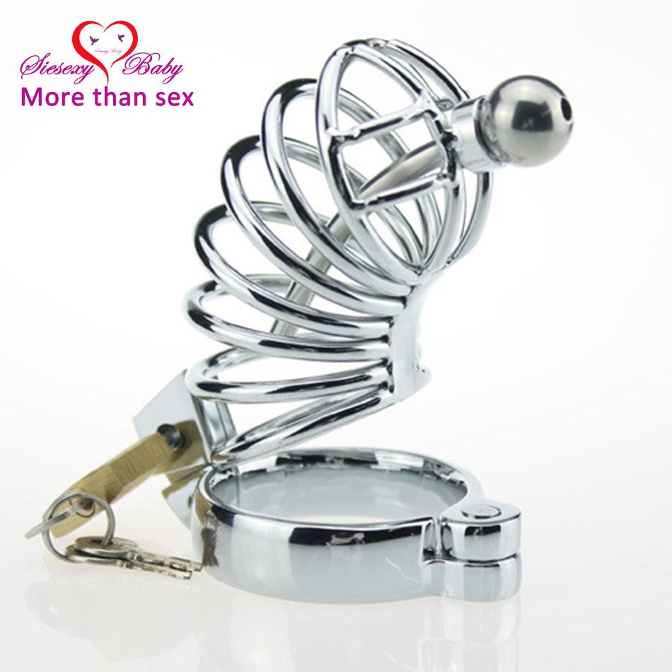 CS367 Penis Ring Penis Cage sex toys for men, metal Cock Cage with Lock sex product , Male Chastity Belt Chastity Device