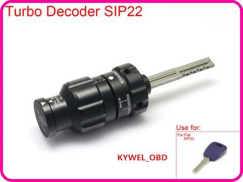 جديد وصول oem توربو DECODER SIP22 لشركة فيات ، فتحت باب السيارة ، SIP22 فيات أداة فك locksimth